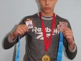 Спортсмен из села Березовское завоевал три медали