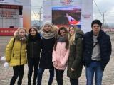 Холмогорские школьники на Универсиаде